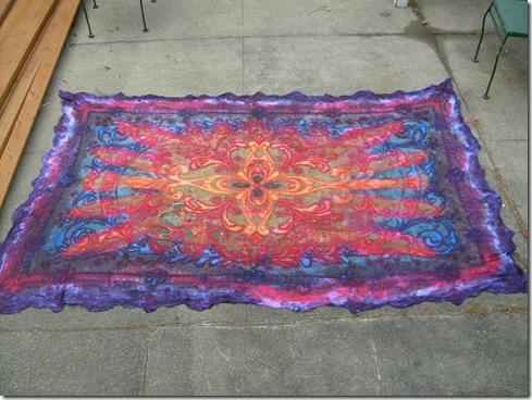 S6300656 tie-dye tablecloth
