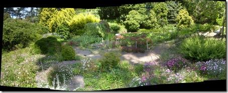 pano gardenspot in arboretum