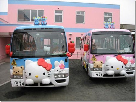 Hello Kitty bus - Copy