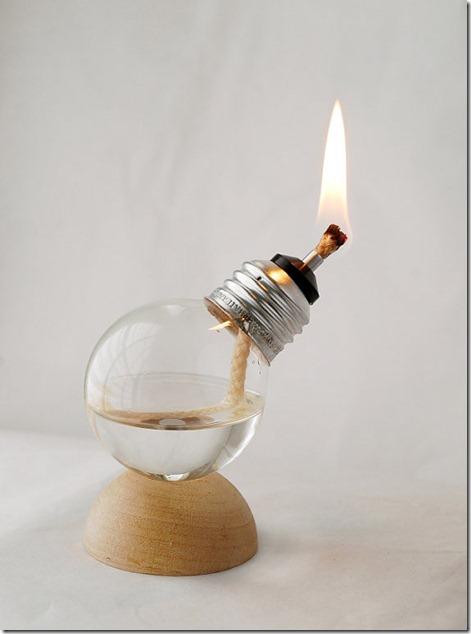 Recycled-Light-Bulb-Oil-Lamp