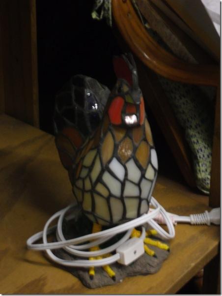 chicken lamp