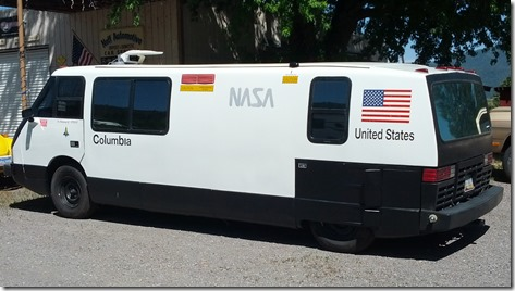 faux NASA truck
