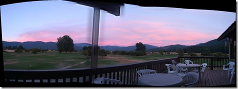 Golf Course pano