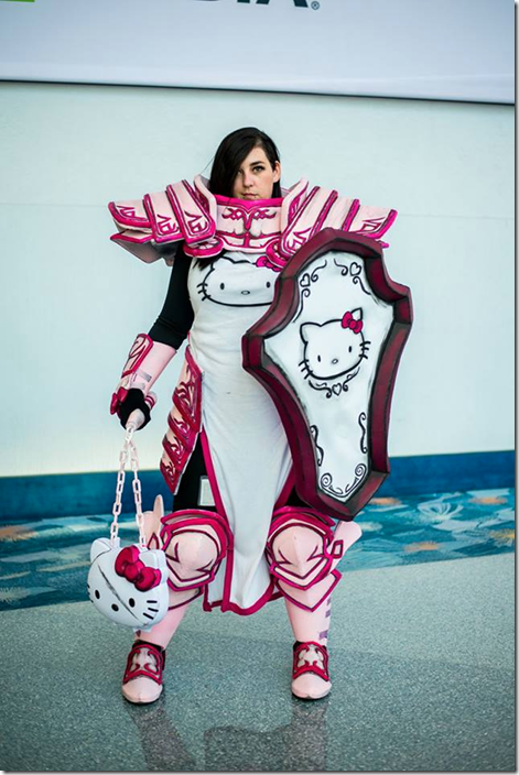 hello kitty armour